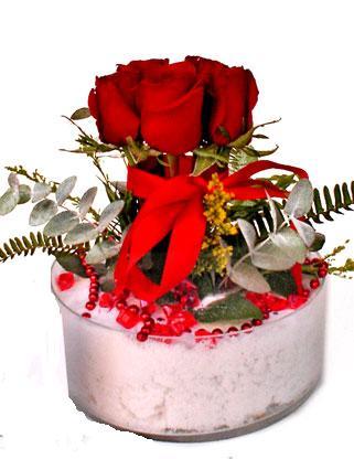 Polatlı çiçek online çiçek siparişi  SEVMEK GÜZEL DIYENLERE 7 ADET GÜL