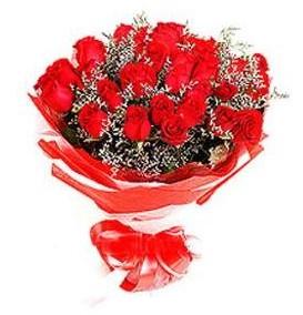 Polatlıya çiçek çiçek mağazası , çiçekçi adresleri  12 adet kırmızı güllerden görsel buket