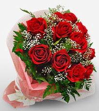 12 adet kırmızı güllerden kaliteli gül  Polatlı çiçek siparişi vermek