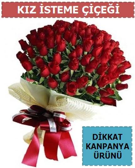 51 Adet gül kız isteme çiçeği buketi  Polatlı Ankara hediye çiçek yolla