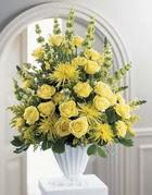 çiçek siparişi sitesi  sari güllerden sebboy tanzim çiçek siparisi