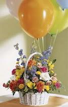 Polatlı çiçek siparişi vermek  Mevsim çiçekleri sepeti balon hediye