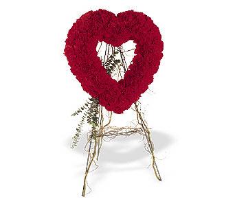 Polatlı internetten çiçek satışı  karanfillerden kalp pano