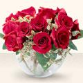 Polatlı çiçek online çiçek siparişi  mika yada cam içerisinde 10 gül - sevenler için ideal seçim -