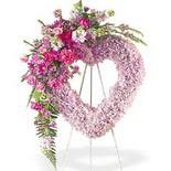 kalp içerisinde mevsim çiçekleri   Polatlı çiçek siparişi vermek