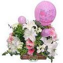 balon ve çiçeklerle tanzim  Polatlı internetten çiçek satışı