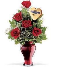 5 adet gül ve cam yada mika vazo özel  Polatlıya çiçek Ankara çiçekçi telefonları