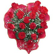 herseyi ile kirmizi buket   Polatlı çiçek online çiçek siparişi