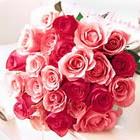 11 adet renkli gül buketi   Polatlıdaki çiçekçiler çiçek servisi , çiçekçi adresleri