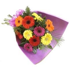 karisik gerbera buketi   Ankara Polatlı online çiçekçi , çiçek siparişi