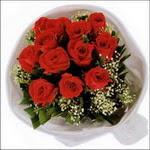 10 adet kirmizi gül buketi   Polatlıya çiçek Ankara çiçekçi telefonları