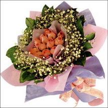 11  adet  gül ve   elyaflar   çiçekçi mağazası