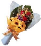 güller ve gerbera çiçekleri   Polatlı çiçek gönderme sitemiz güvenlidir