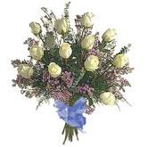 bir düzine beyaz gül buketi   Polatlı çiçek gönderme sitemiz güvenlidir
