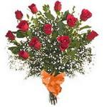 bir düzine kirmizi gül buketi   Polatlı çiçek gönderme sitemiz güvenlidir