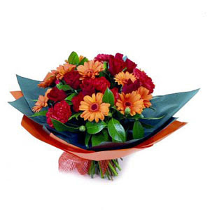 gül gerbera ve karanfiller   Polatlı çiçek gönderme sitemiz güvenlidir