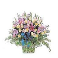 sepette kazablanka ve güller   Polatlıda çiçek firması çiçek gönderme