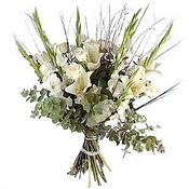 glayör buketi demet halinde   Polatlıda çiçek firması çiçek gönderme