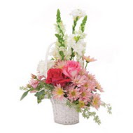 sepet içerisinde karisiklar   Polatlıda çiçek firması çiçek gönderme