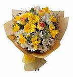 karisik kir çiçek demeti   Polatlıda çiçek firması çiçek gönderme