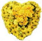 kalp biçiminde sevgisel   Polatlıya çiçek Ankara çiçekçi telefonları