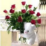 9 adet kirmizi gül    Polatlı Ankara çiçek , çiçekçi , çiçekçilik