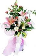 güller kazablanka oyuncak   Polatlıda çiçek firması çiçek gönderme