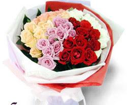 SEVENLERE ÖZEL 51 ADET GÜL  Polatlı internetten çiçek satışı