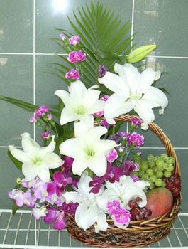 Polatlı internetten çiçek satışı  KAZABLANKA KARANFIL VE KIR ÇIÇEKLERI MEVSIM MEYVA