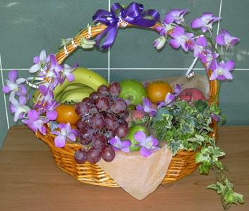 Polatlı internetten çiçek satışı  SEPET IÇERISINDE MEVSIM MEYVALARI