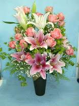 Polatlı internetten çiçek satışı  cam vazo içerisinde 21 gül 1 kazablanka