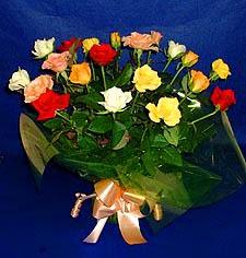 Polatlı Ankara hediye çiçek yolla  13 adet karisik renkli güller