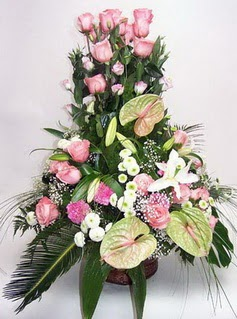 ucuz çiçek gönder  özel üstü süper aranjman