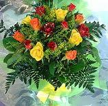 13 adet karisik gül buketi demeti   Polatlı uluslararası çiçek gönderme