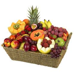 Karisik meyva sepeti  cicekciler , cicek siparisi