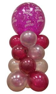 Sevdiklerinize 17 adet uçan balon demeti yollayin   Polatlıya çiçek Ankara çiçekçi telefonları