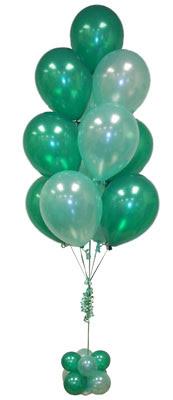 Sevdiklerinize 17 adet uçan balon demeti yollayin.   Polatlı çiçek satışı