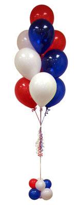 Sevdiklerinize 17 adet uçan balon demeti yollayin.    Polatlı Ankara çiçek , çiçekçi , çiçekçilik