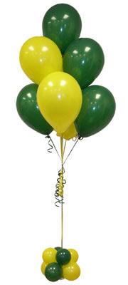 Sevdiklerinize 17 adet uçan balon demeti yollayin.   ucuz çiçek gönder
