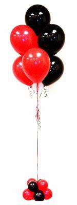Sevdiklerinize 17 adet uçan balon demeti yollayin.   Polatlı Ankara hediye çiçek yolla