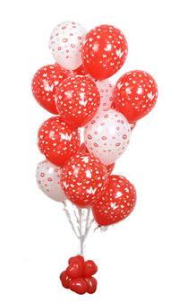 Sevdiklerinize 17 adet uçan balon demeti yollayin.  Polatlı internetten çiçek satışı