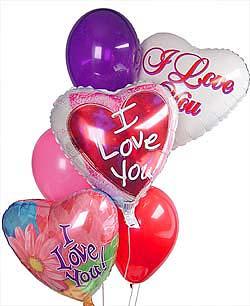 Polatlı internetten çiçek satışı  Sevdiklerinize 17 adet uçan balon demeti yollayin.