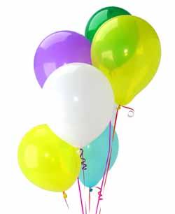 Ankara Polatlı İnternetten çiçek siparişi  Sevdiklerinize 17 adet uçan balon demeti yollayin.