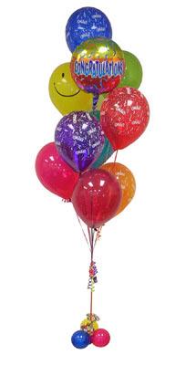 Polatlı çiçek gönderme sitemiz güvenlidir  Sevdiklerinize 17 adet uçan balon demeti yollayin.