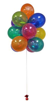 Polatlıda çiçek firması çiçek gönderme  Sevdiklerinize 17 adet uçan balon demeti yollayin.