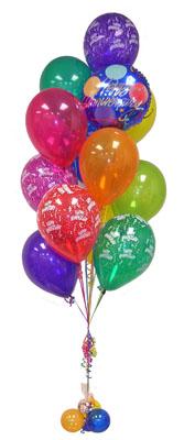 Polatlı çiçek satışı  Sevdiklerinize 17 adet uçan balon demeti yollayin.