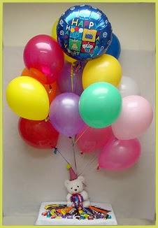 çiçekçi mağazası  Sevdiklerinize 17 adet uçan balon demeti yollayin.