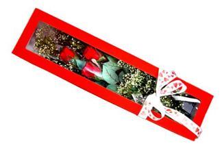 Polatlı Ankara hediye çiçek yolla  Kutuda 3 adet gül