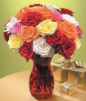 Polatlı anneler günü çiçek yolla  13 adet renkli gül