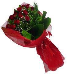 Polatlı çiçek gönderme sitemiz güvenlidir  10 adet kirmizi gül demeti